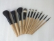 12 Piece Professional brush sets and case